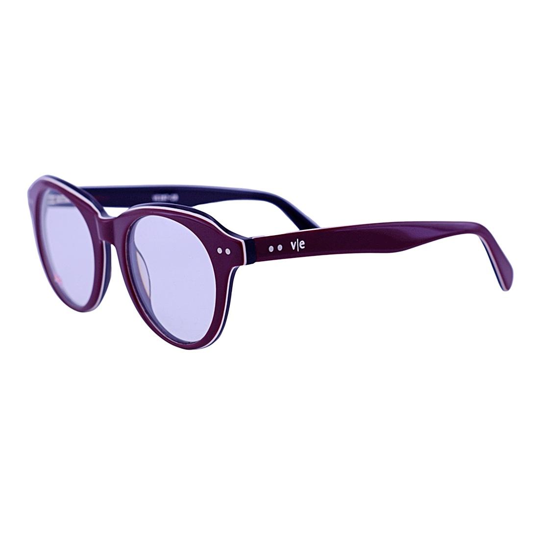 Armação para Óculos De Grau Mackage Feminino Oval - Vinho