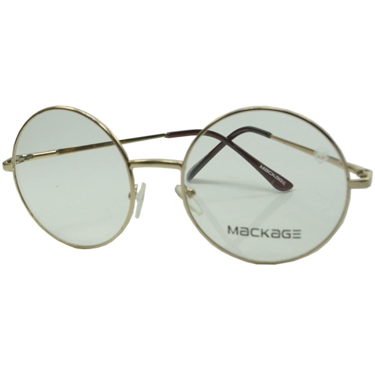 0053a5d75b7f9 Armação Para Óculos De Grau - Mackage MKA1526C3 Dourado