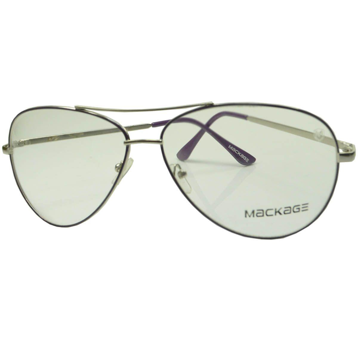 Armação Para Óculos De Grau - Mackage MKAVIATR2 Roxo