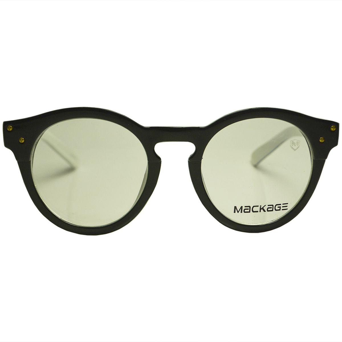 Armações para Óculos de Grau Mackage MKA0099PB Preto Branco