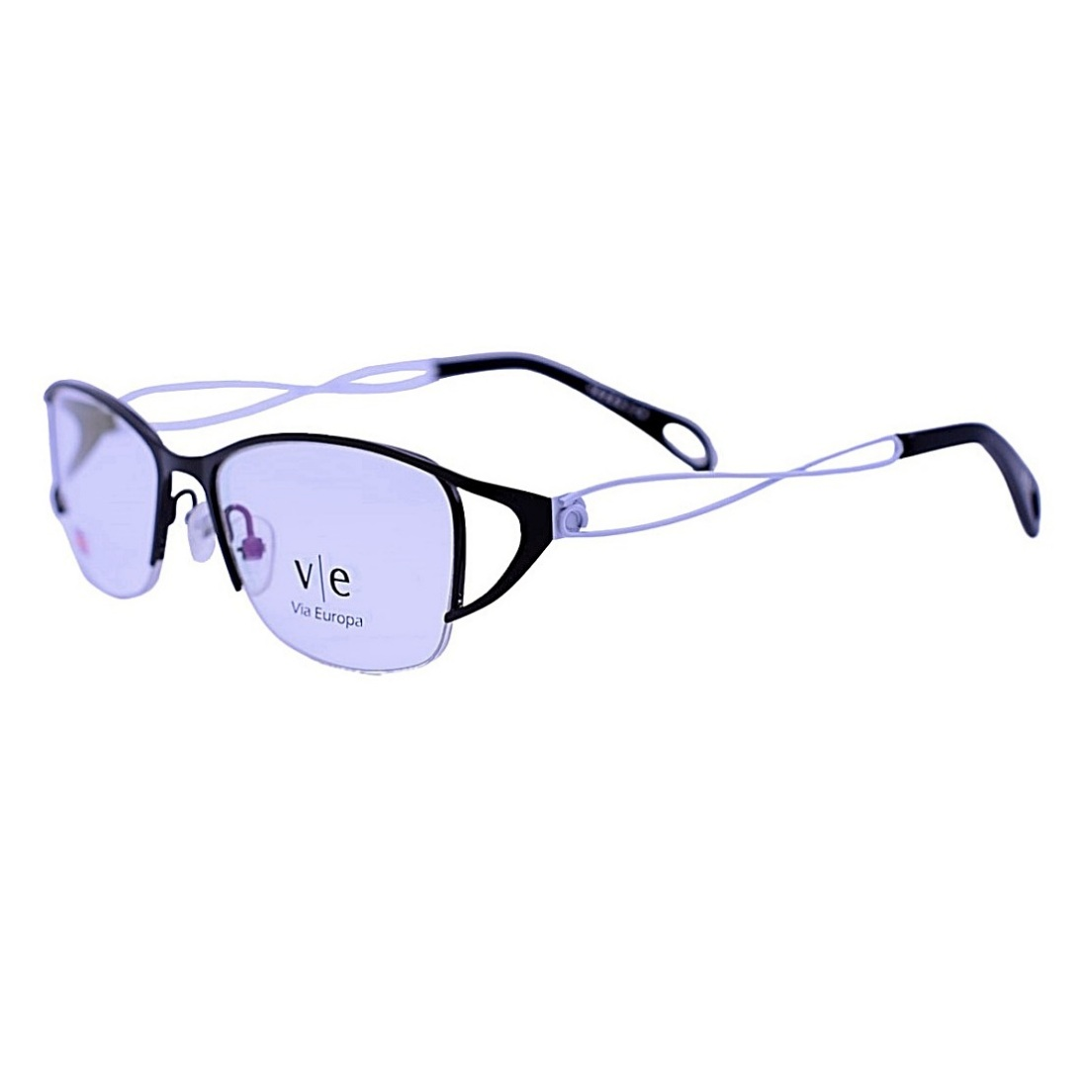 Armação Óculos De Grau Mackage Feminino Infantil Retangular - Preto/Branco