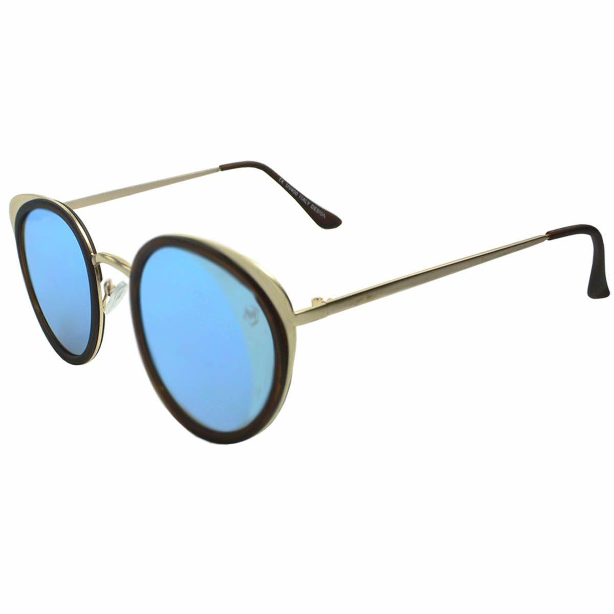 Óculos de Sol Feminino Mackage MK01473 Redondo
