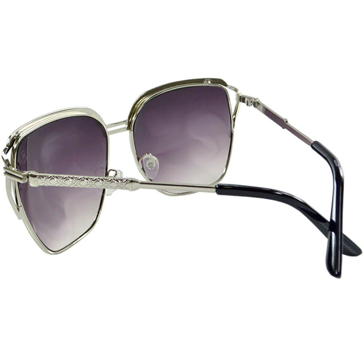 Óculos de Sol Feminino Mackage MK1493P Preto