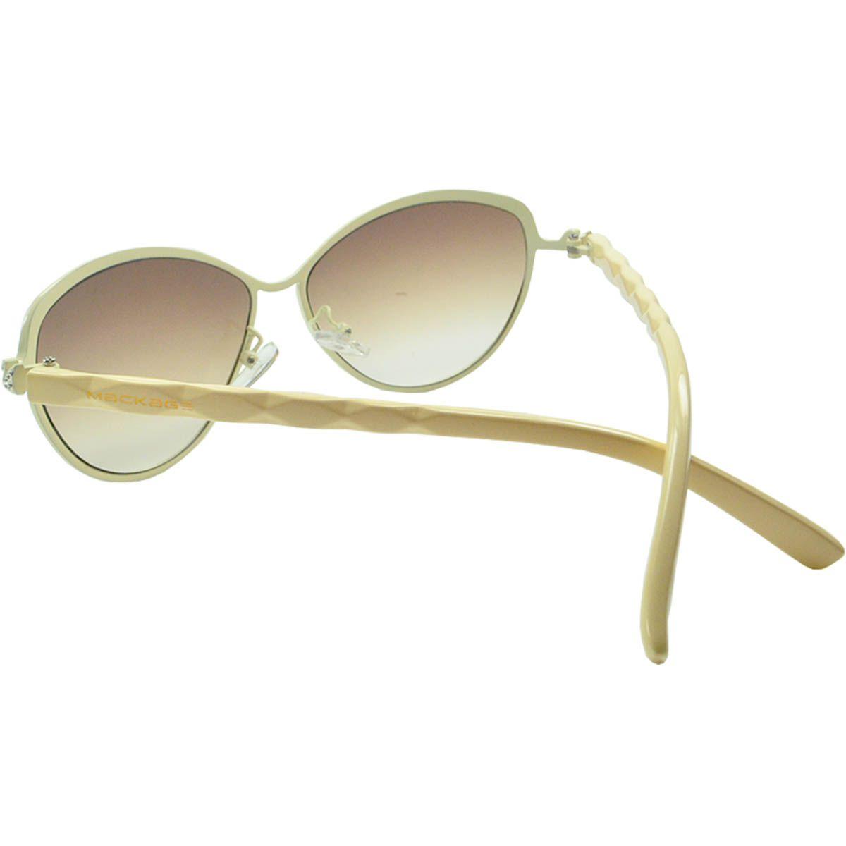 Óculos de Sol Feminino Mackage MK2125B Bege