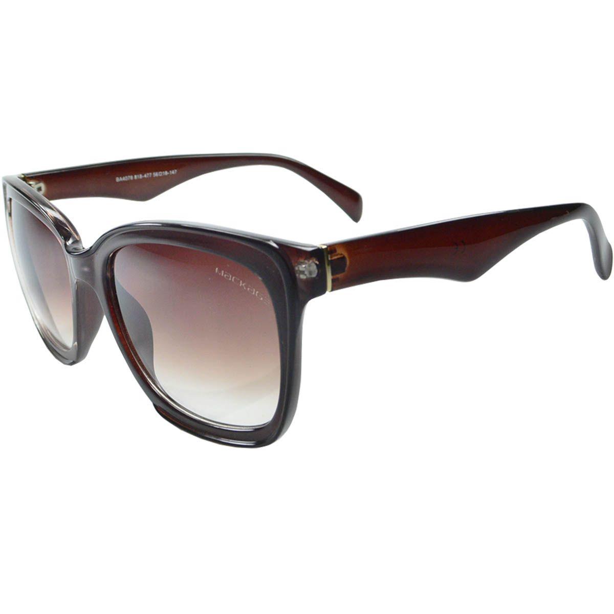 Óculos de Sol Feminino Mackage MK4078M Marrom
