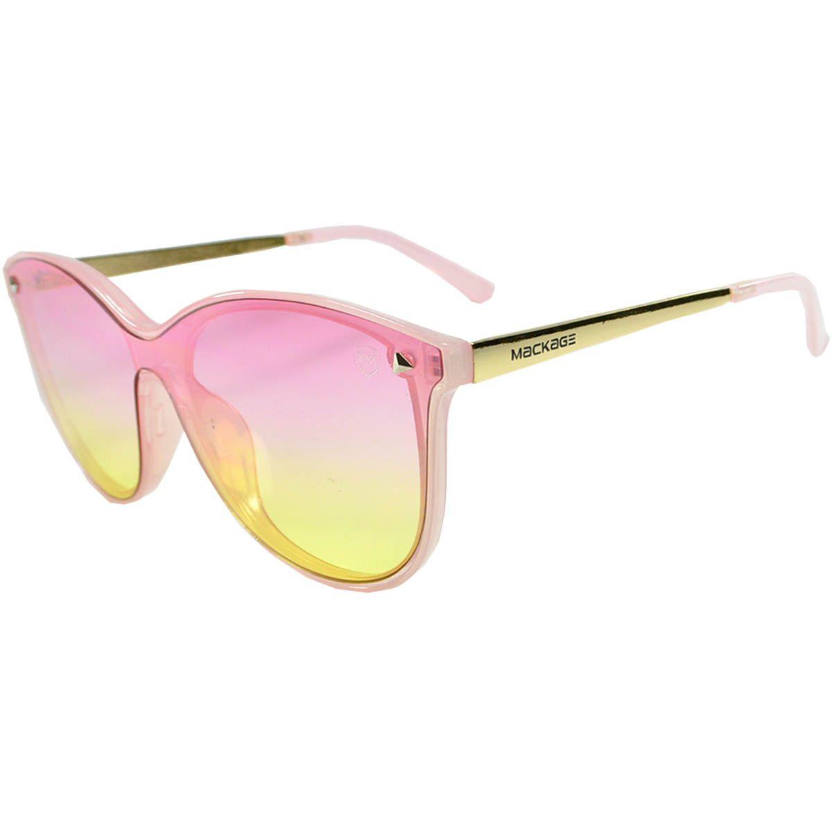 66eb77b80ec93 Óculos de Sol Feminino Mackage MK92011PT Preto Tarta