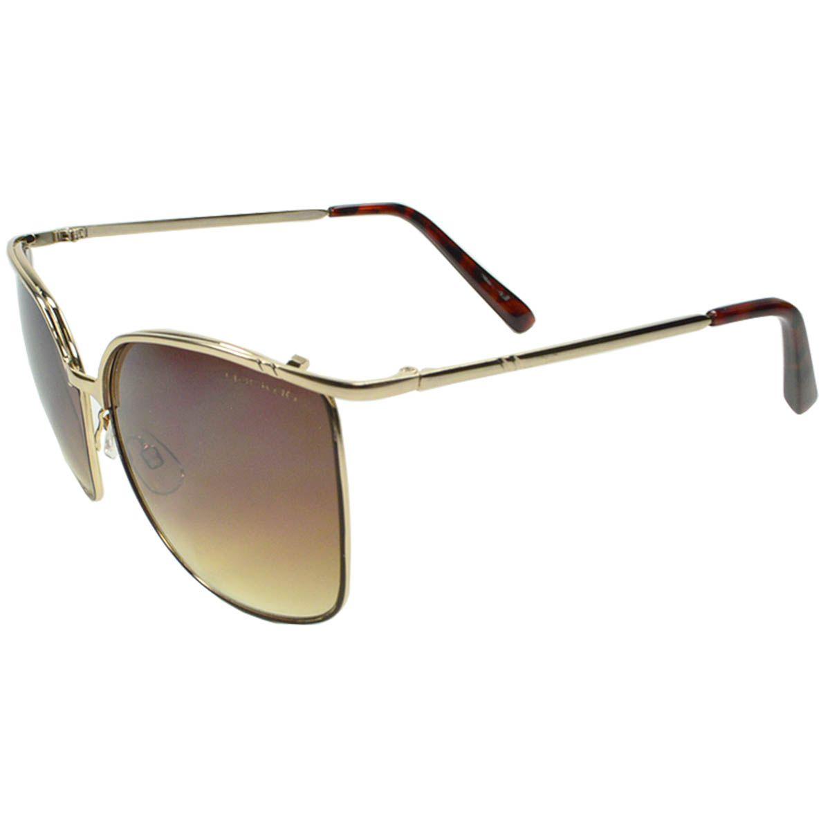 87a64db3a Óculos de Sol Feminino Mackage MK6233D Dourado