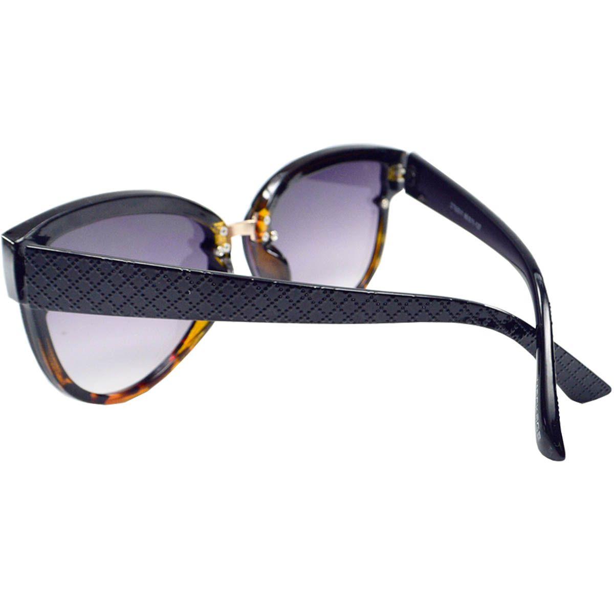 56d28c7f35b9e ... Óculos de Sol Feminino Mackage MK92011PT Preto Tarta - Mackage