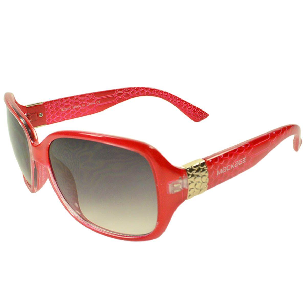 Óculos de Sol Feminino Mackage MK9284V Vermelho
