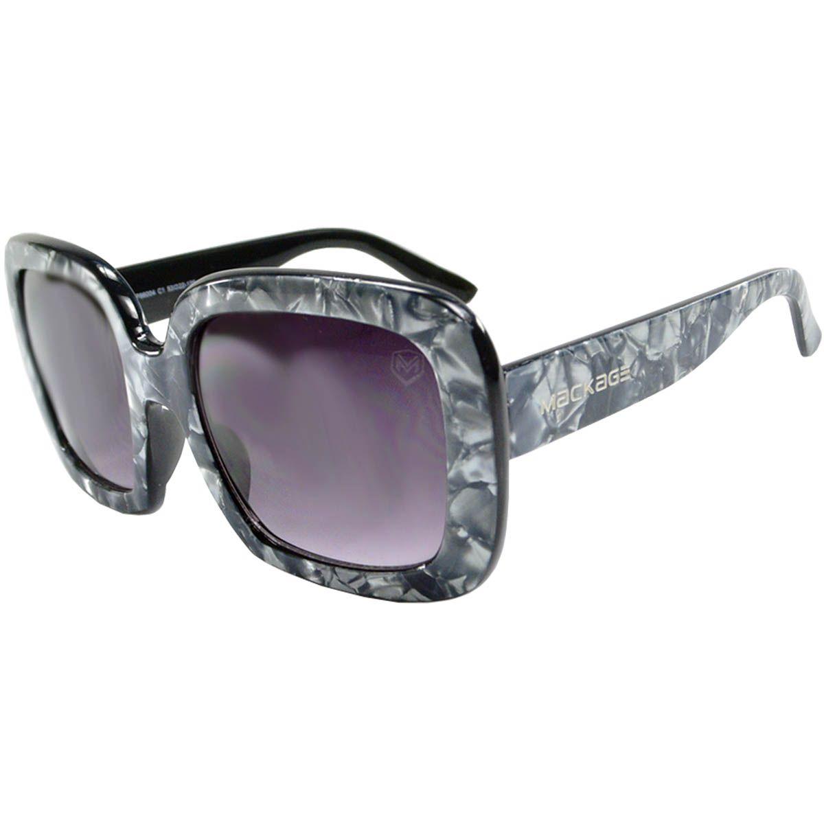 Óculos de Sol Feminino Marmorizado Mackage MK86004