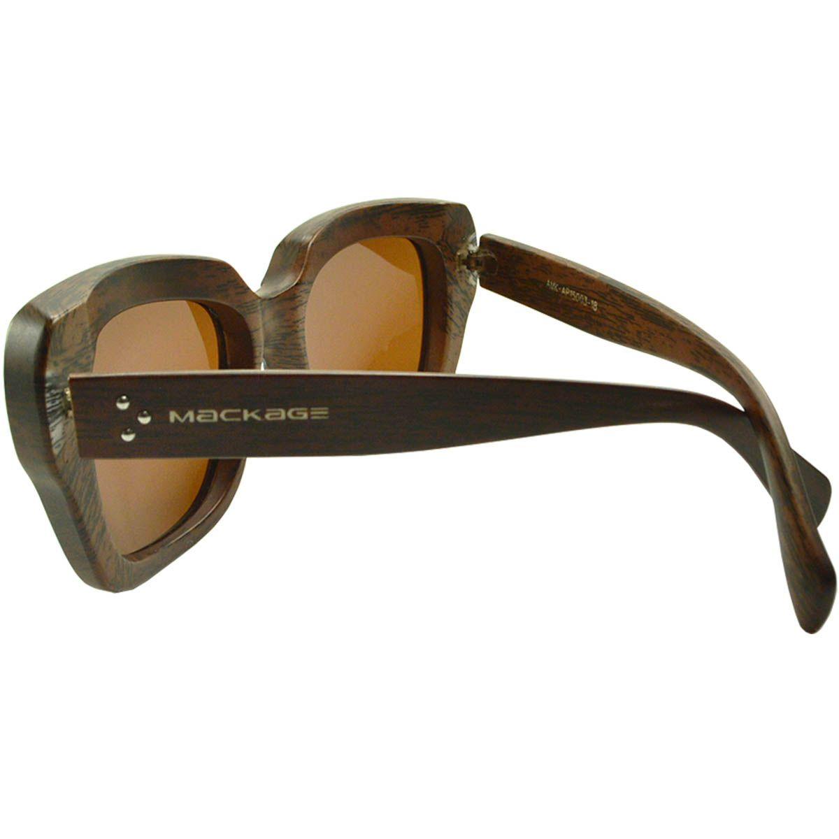 Óculos de Sol Feminino Polarizado Mackage AMK-AP15003-18 Imbuia