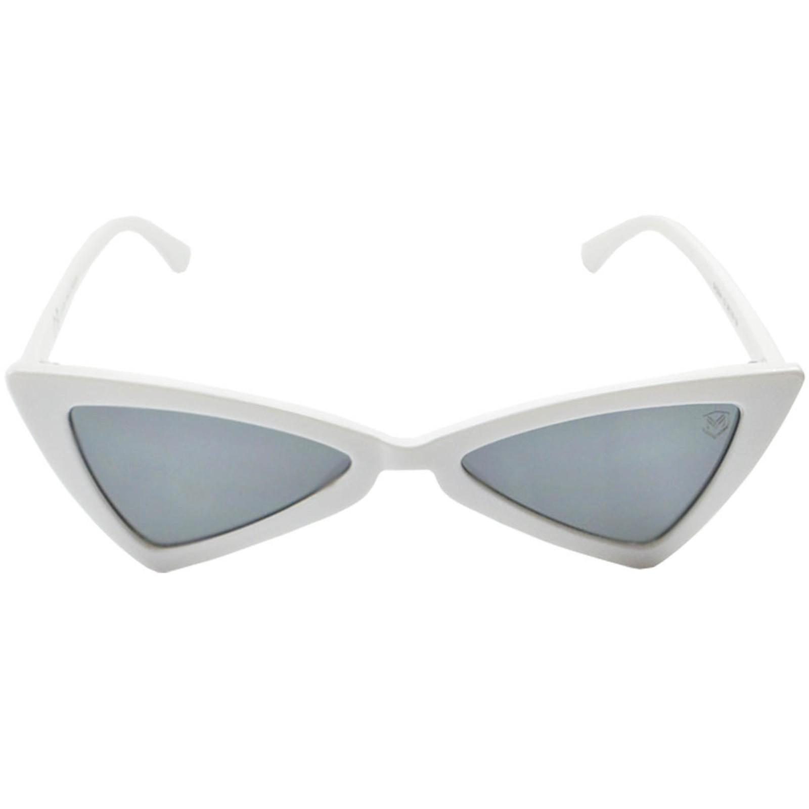 Óculos De Sol Mackage Feminino Acetato Butterfly - Branco
