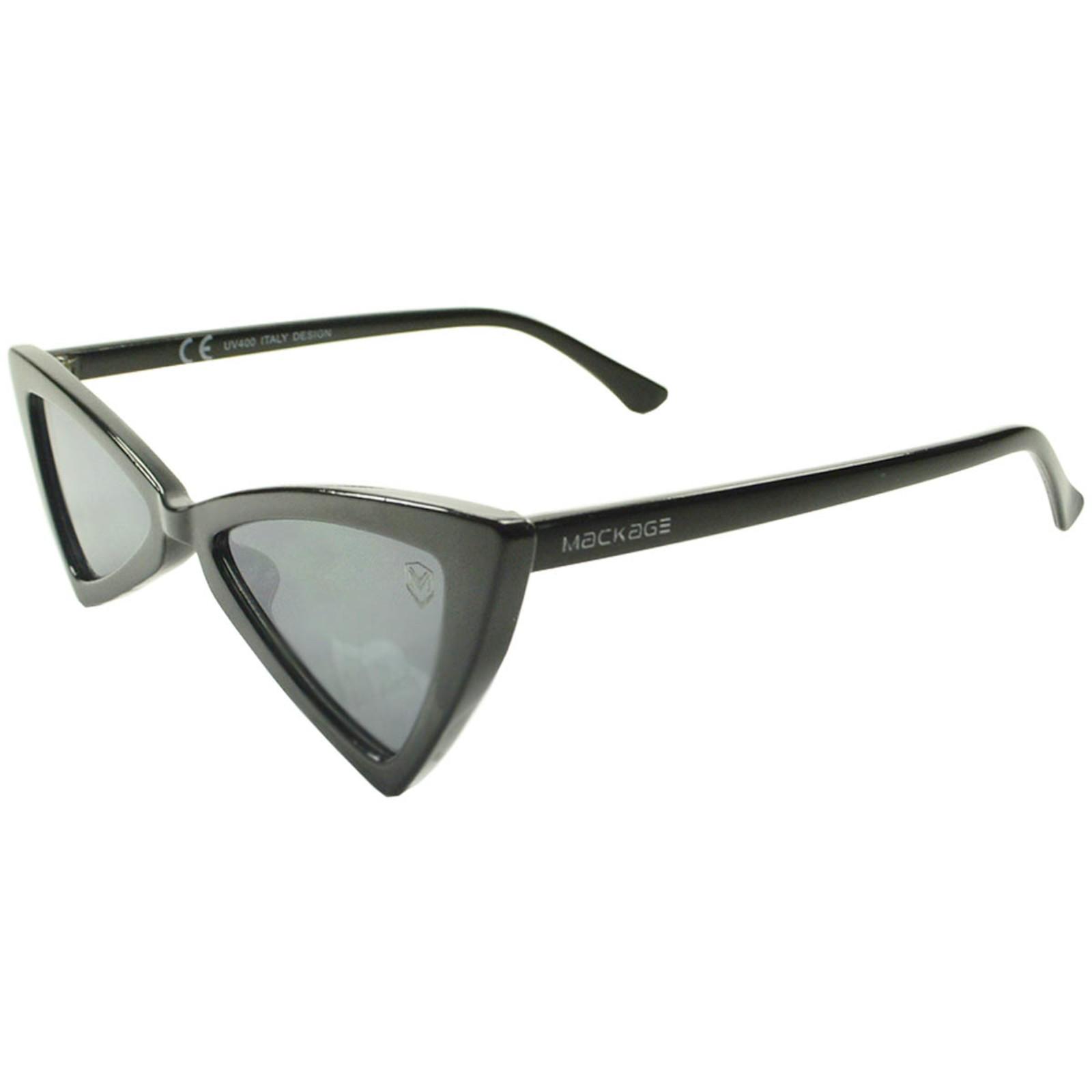 Óculos De Sol Mackage Feminino Acetato Butterfly - Preto