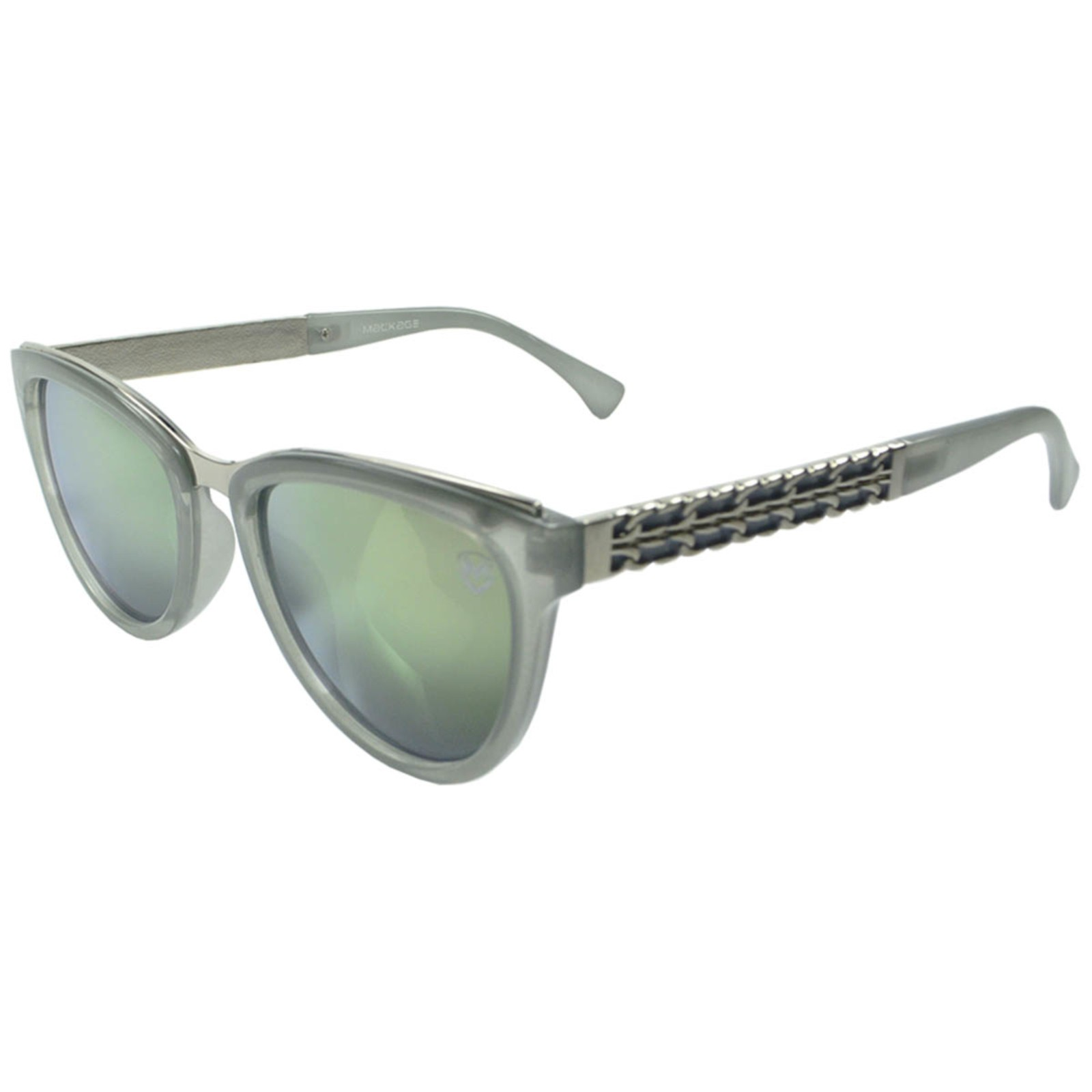 Óculos De Sol Mackage Feminino Acetato Gateado - Cinza