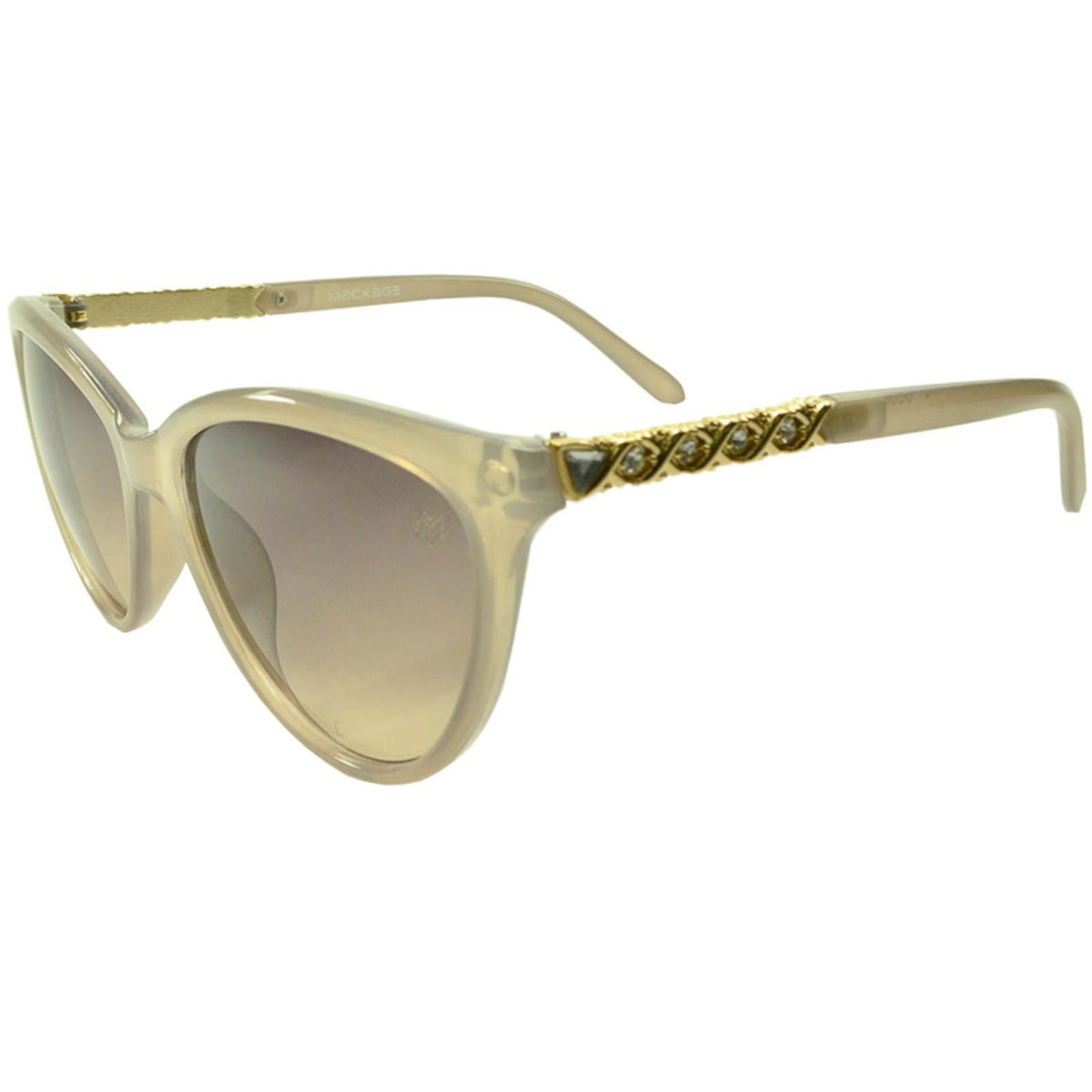Óculos De Sol Mackage Feminino Acetato Gateado - Nude