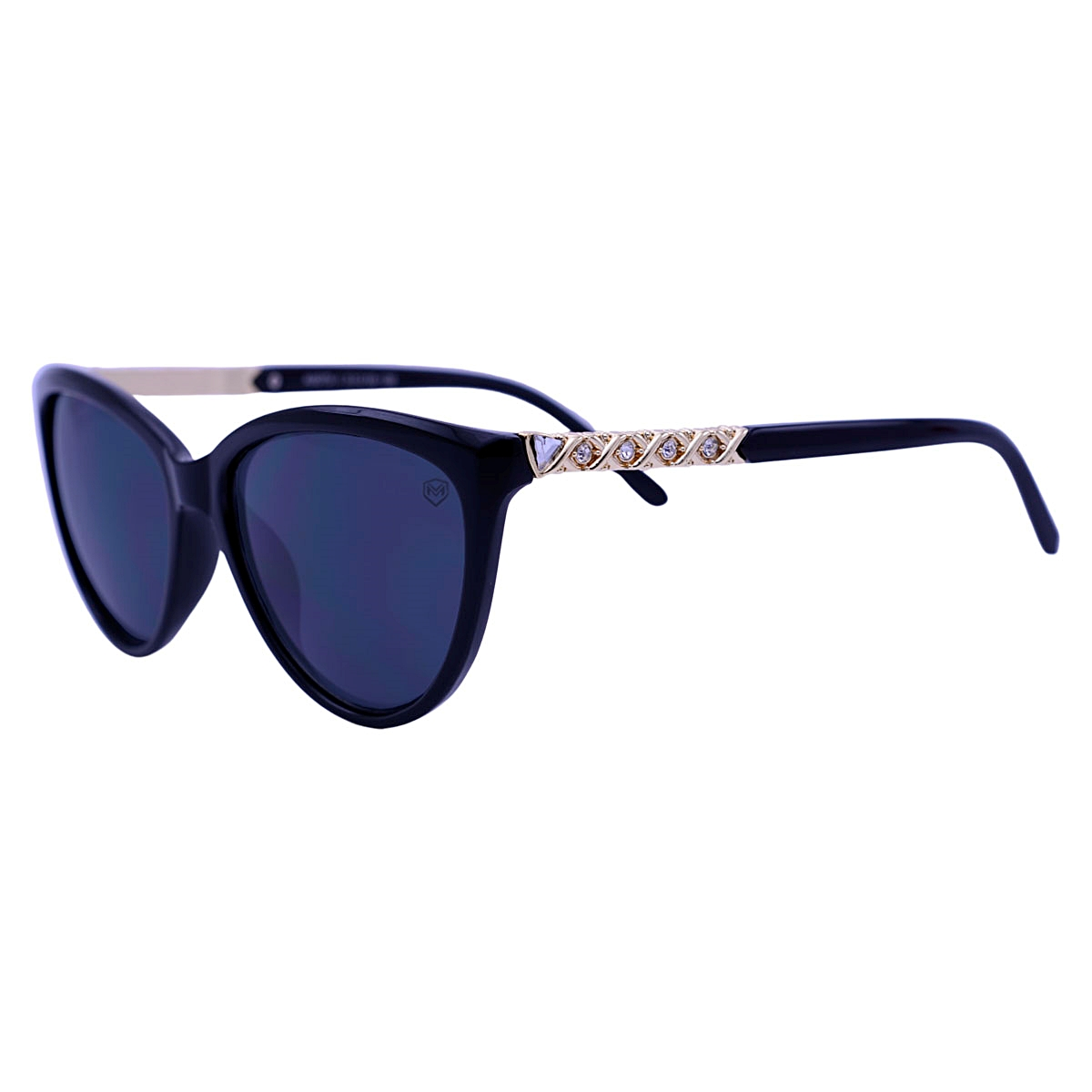 Óculos De Sol Mackage Feminino Acetato Gateado - Preto