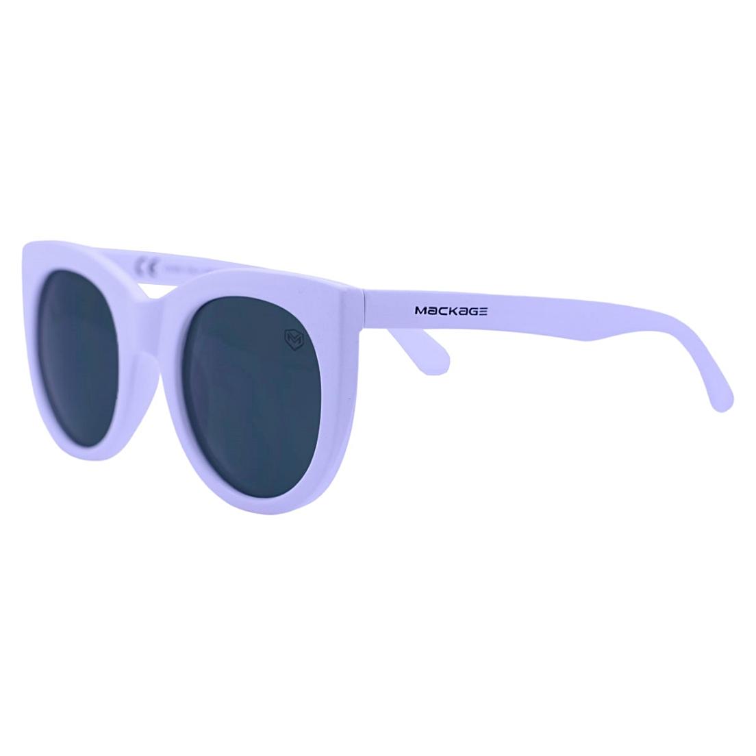 Óculos De Sol Mackage Feminino Acetato Gateado Retrô - Branco