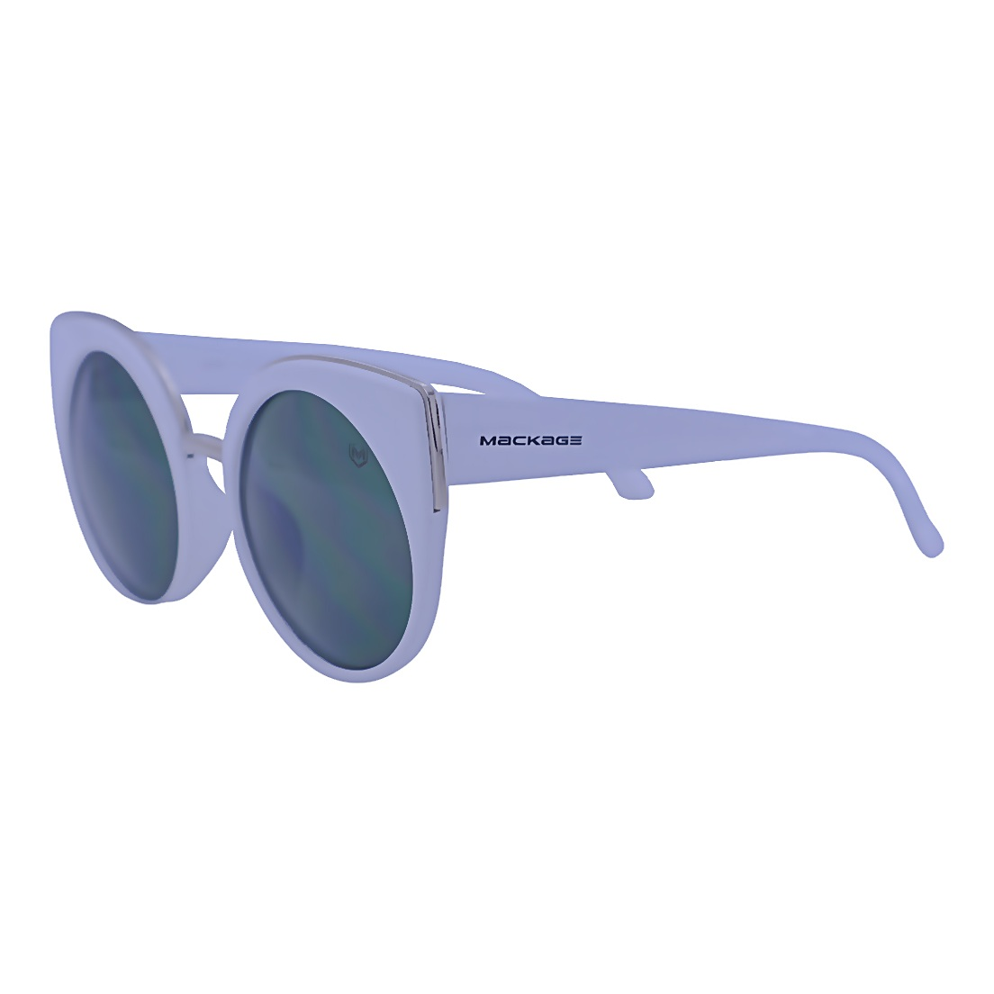 Óculos De Sol Mackage Feminino Acetato Gateado Retro - Branco