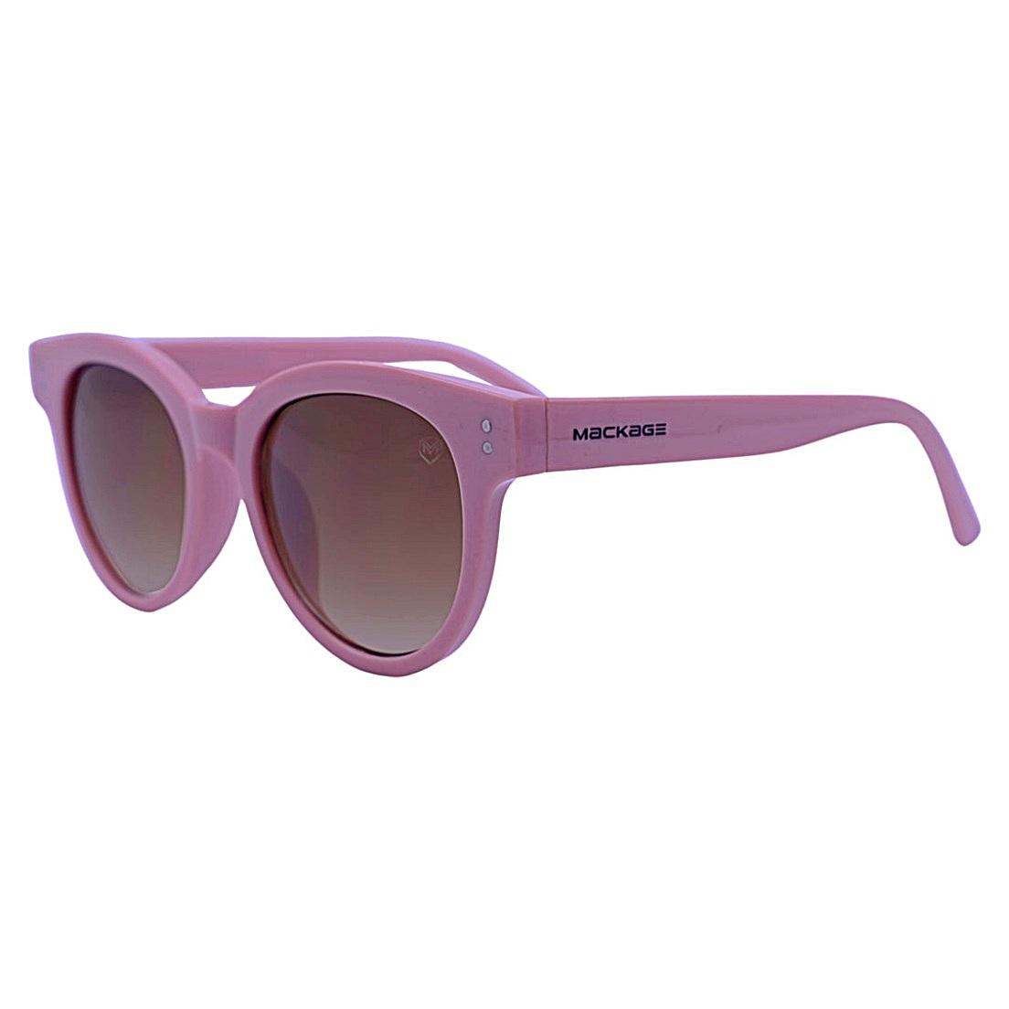 Óculos De Sol Mackage Feminino Acetato Gateado Retro - Rosa