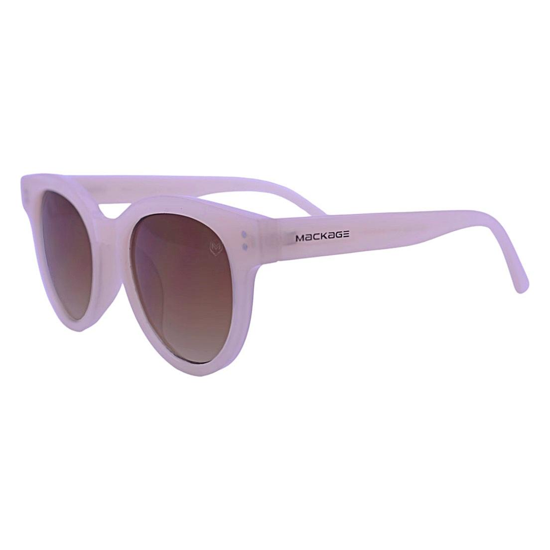 Óculos De Sol Mackage Feminino Acetato Gateado Retro - Rosa Palha