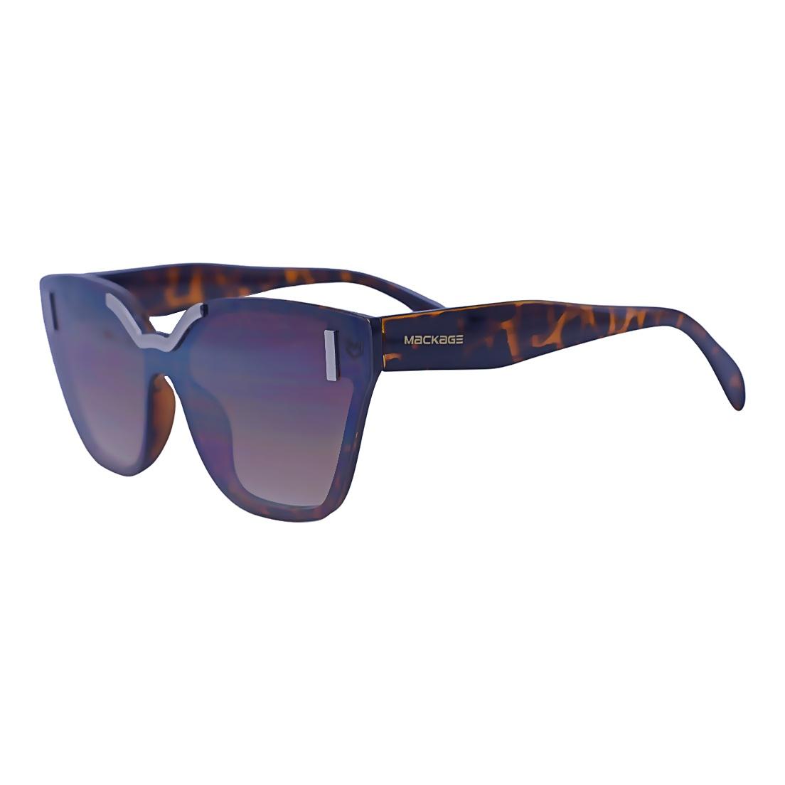 Óculos De Sol Mackage Feminino Acetato Mascara - Tartaruga