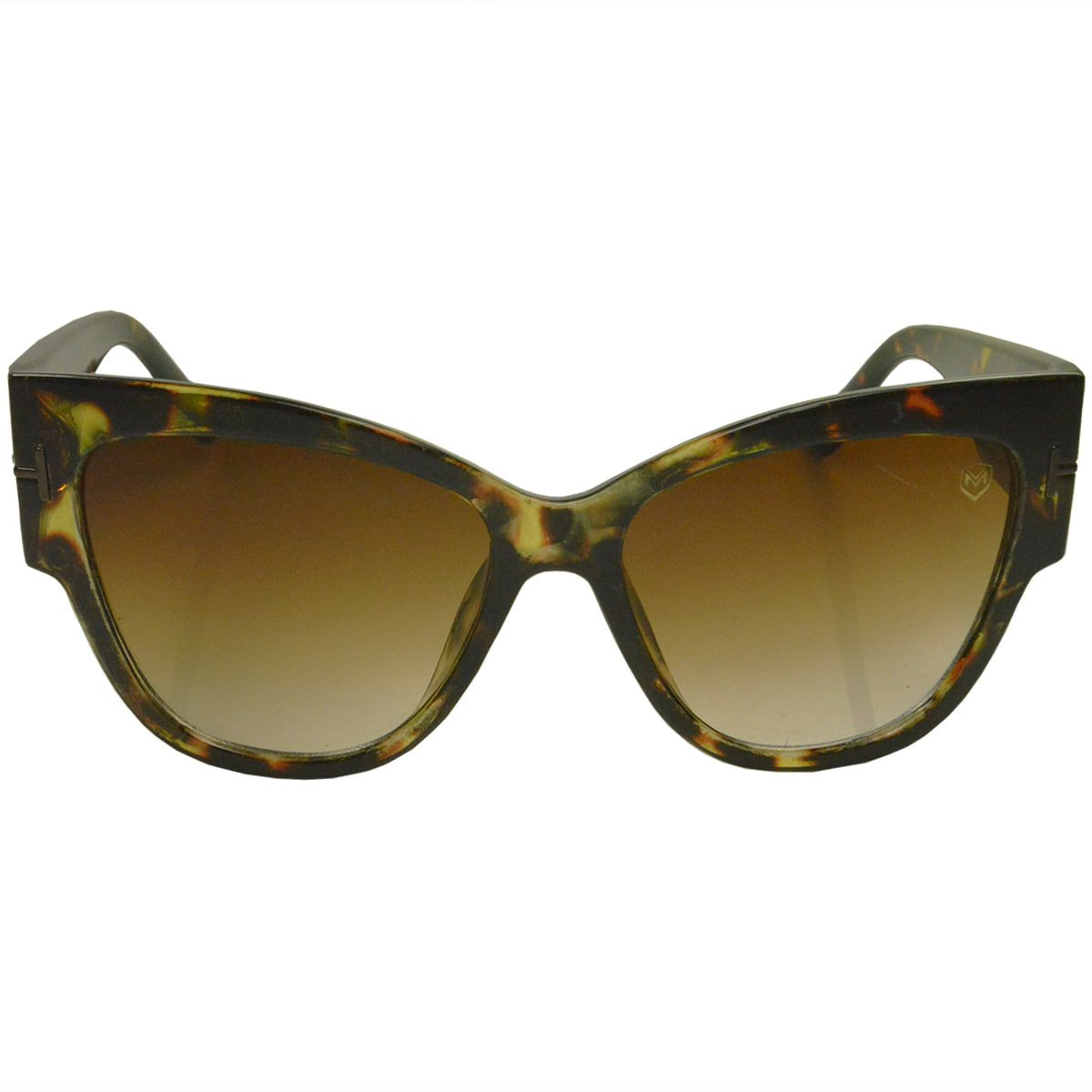 Óculos De Sol Mackage Feminino Acetato Oversize Gateado - Tarta