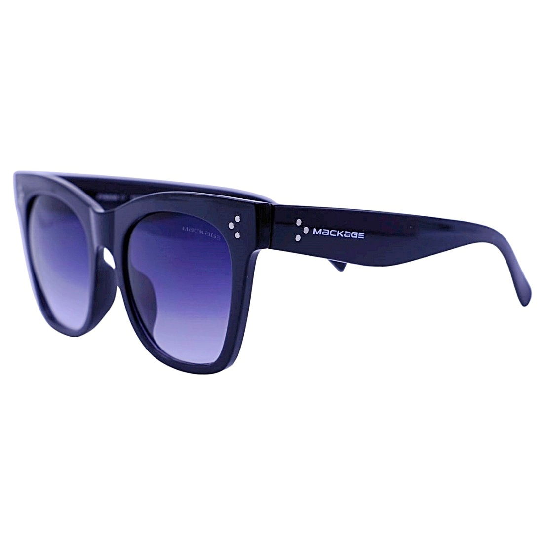 Óculos De Sol Mackage Feminino Acetato Oversize Quadrado Retro