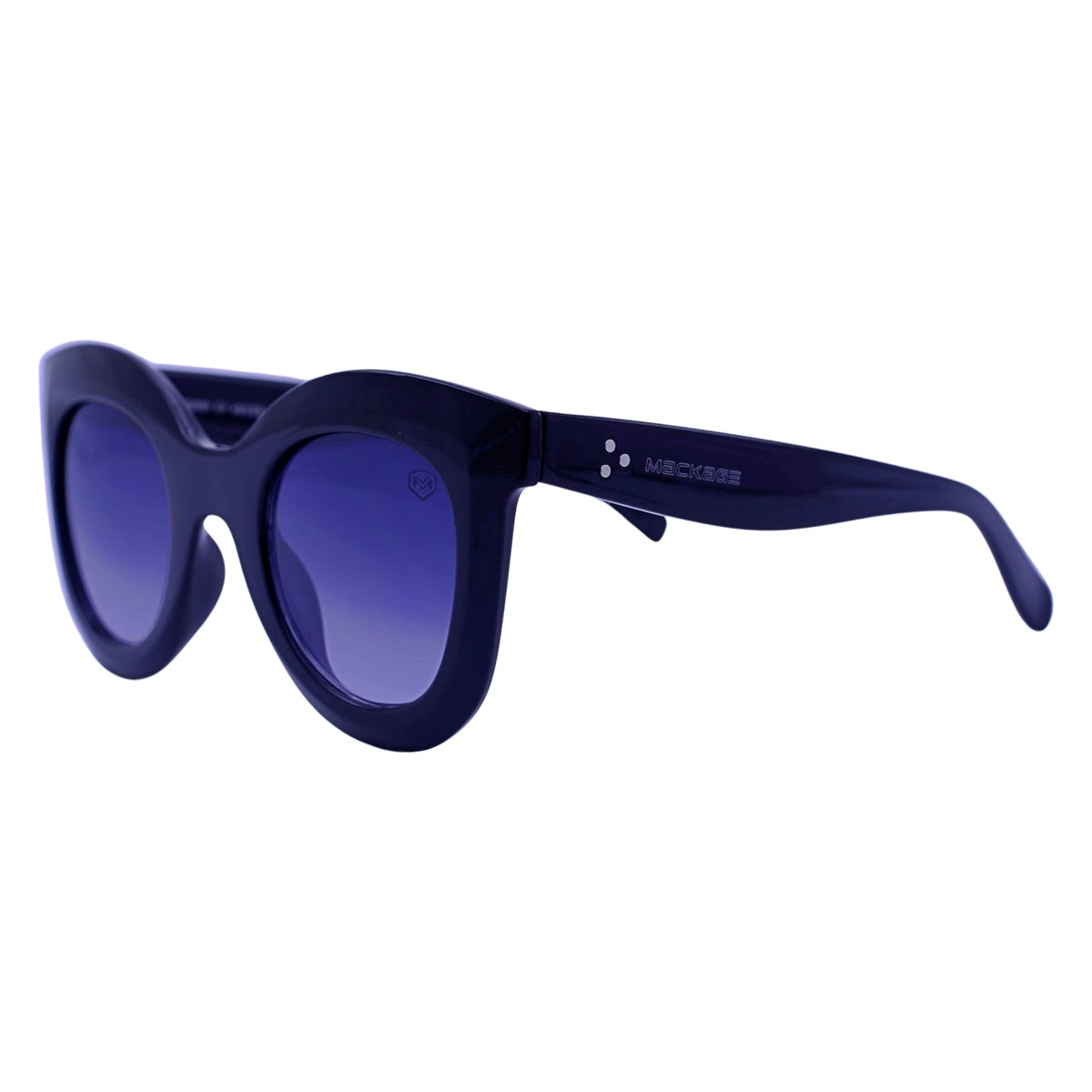 Óculos De Sol Mackage Feminino Acetato Oversize Redondo Retro