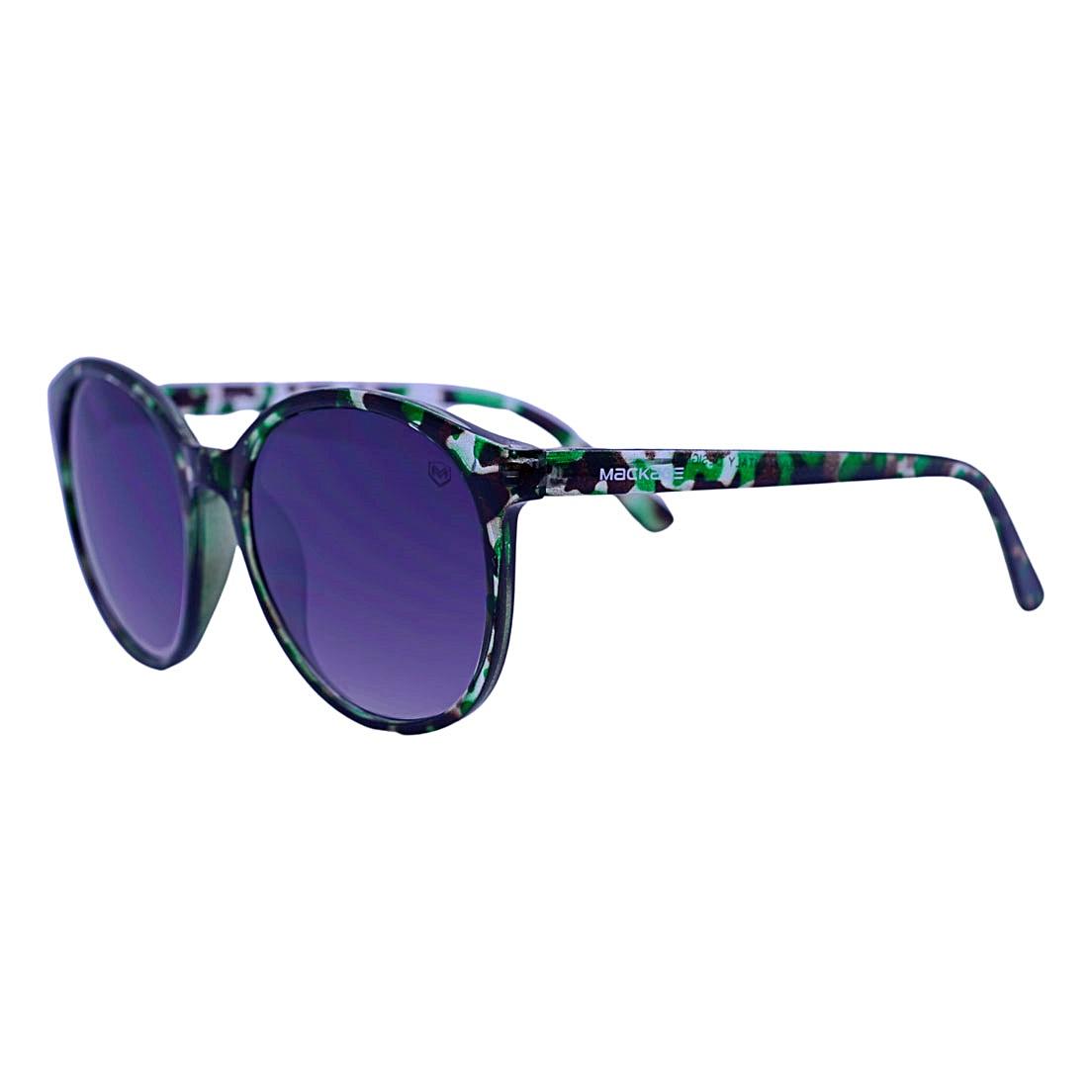 Óculos De Sol Mackage Feminino Acetato Redondo - Camuflado