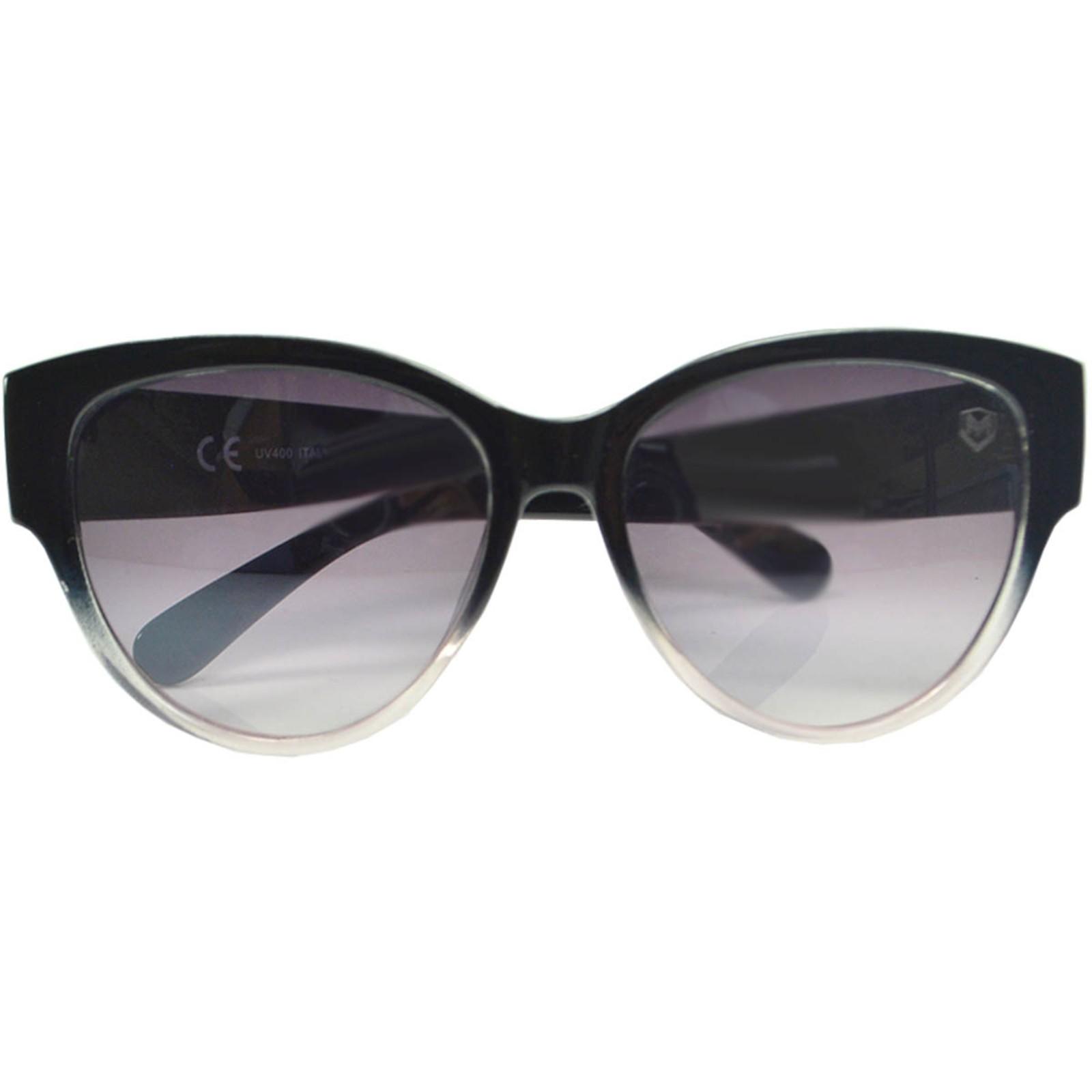 Óculos De Sol Mackage Feminino Acetato Redondo Jacko Feminino - Preto