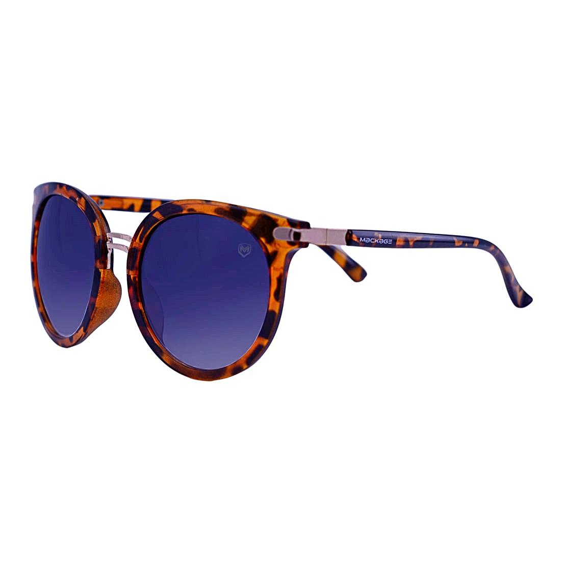 Óculos De Sol Mackage Feminino Acetato Redondo - Tartaruga