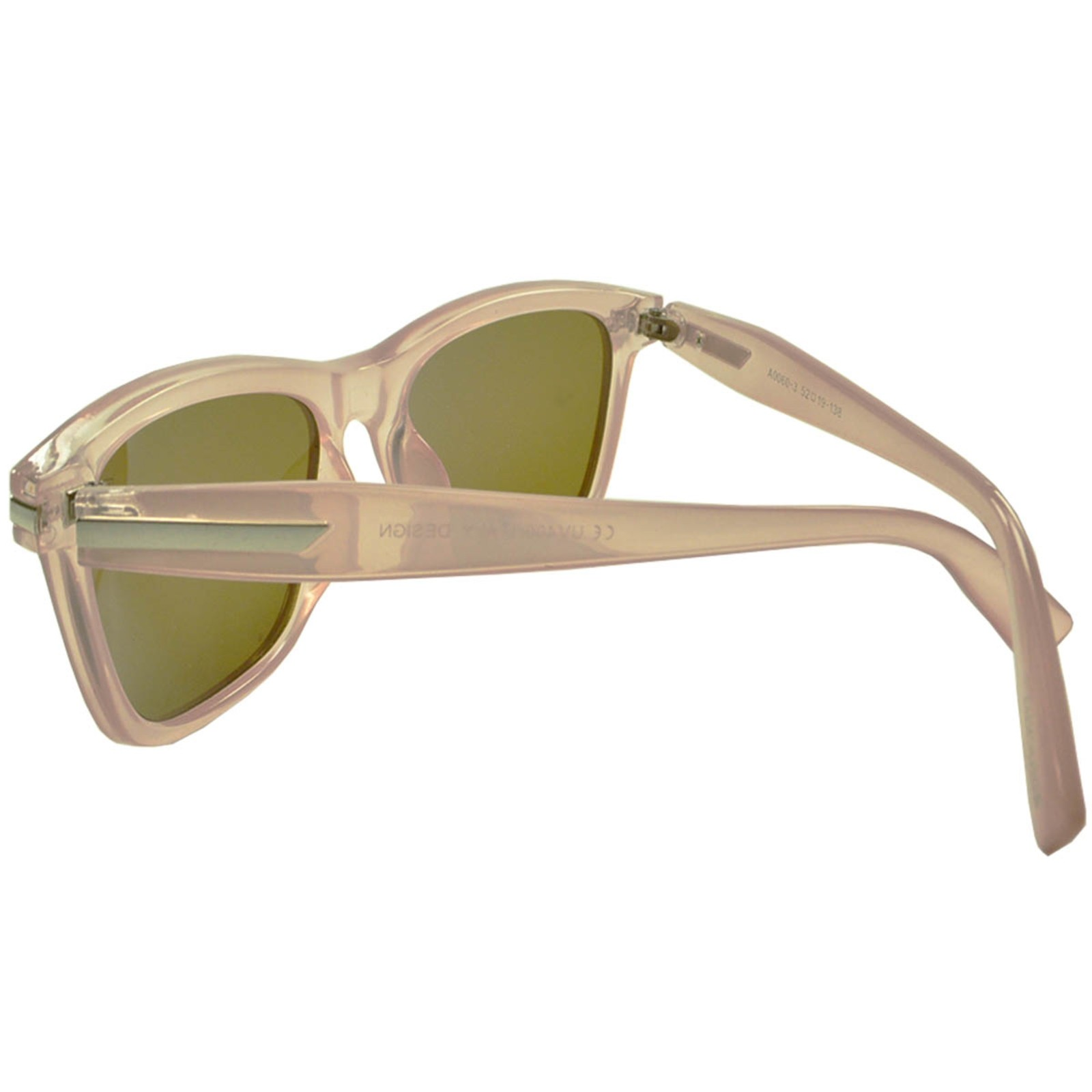 Óculos De Sol Mackage Feminino Acetato Retangular - Rose Cristal