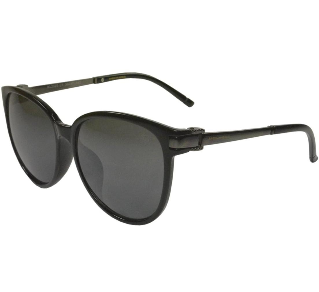 Óculos de Sol Mackage Feminino Acetato Round Classic - Preto