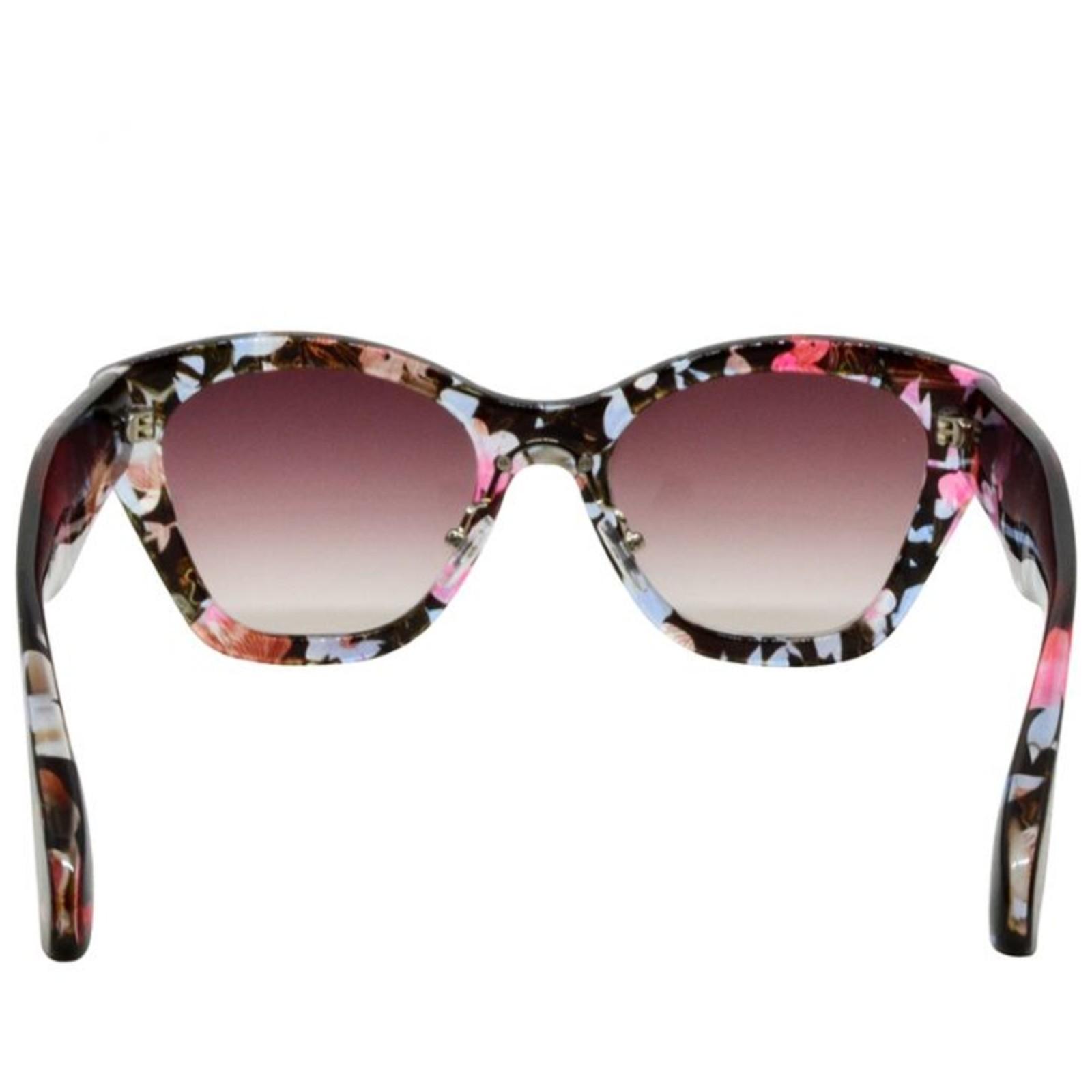 Óculos de Sol Mackage Feminino Acetato Spring Oversize - Floral