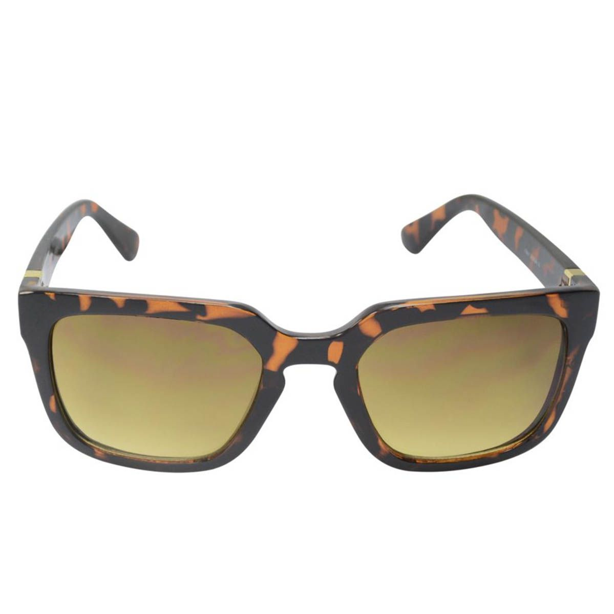 Óculos de Sol Mackage Feminino AMK15066-3 Animal Print Marrom