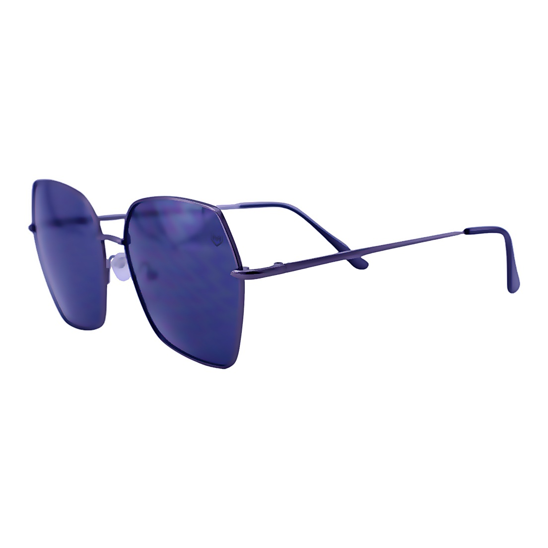 Óculos De Sol Mackage Feminino Hexagonal - Grafite