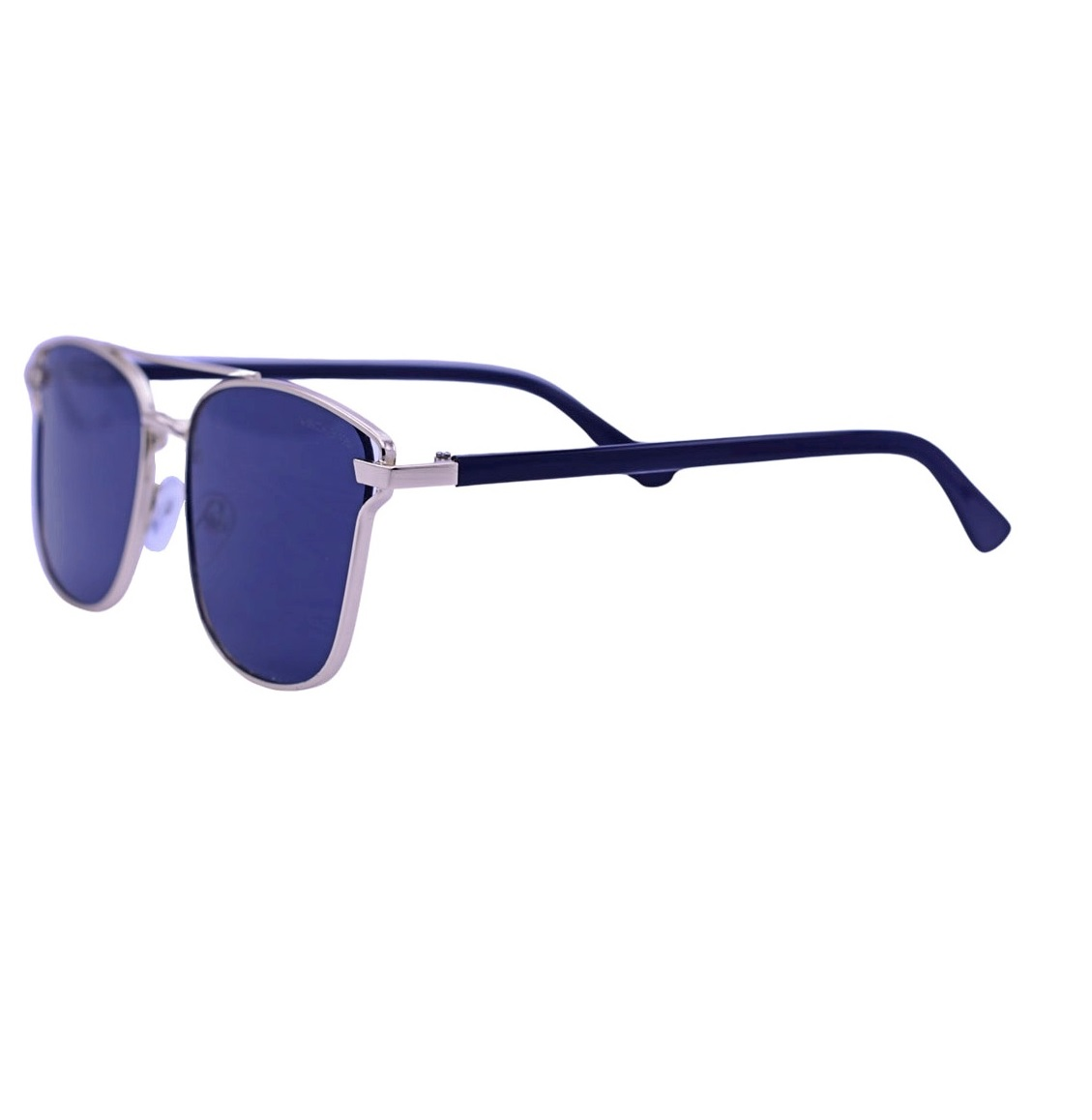 Óculos De Sol Mackage Feminino Metal-Acetato Retangular - Dourado/Preto