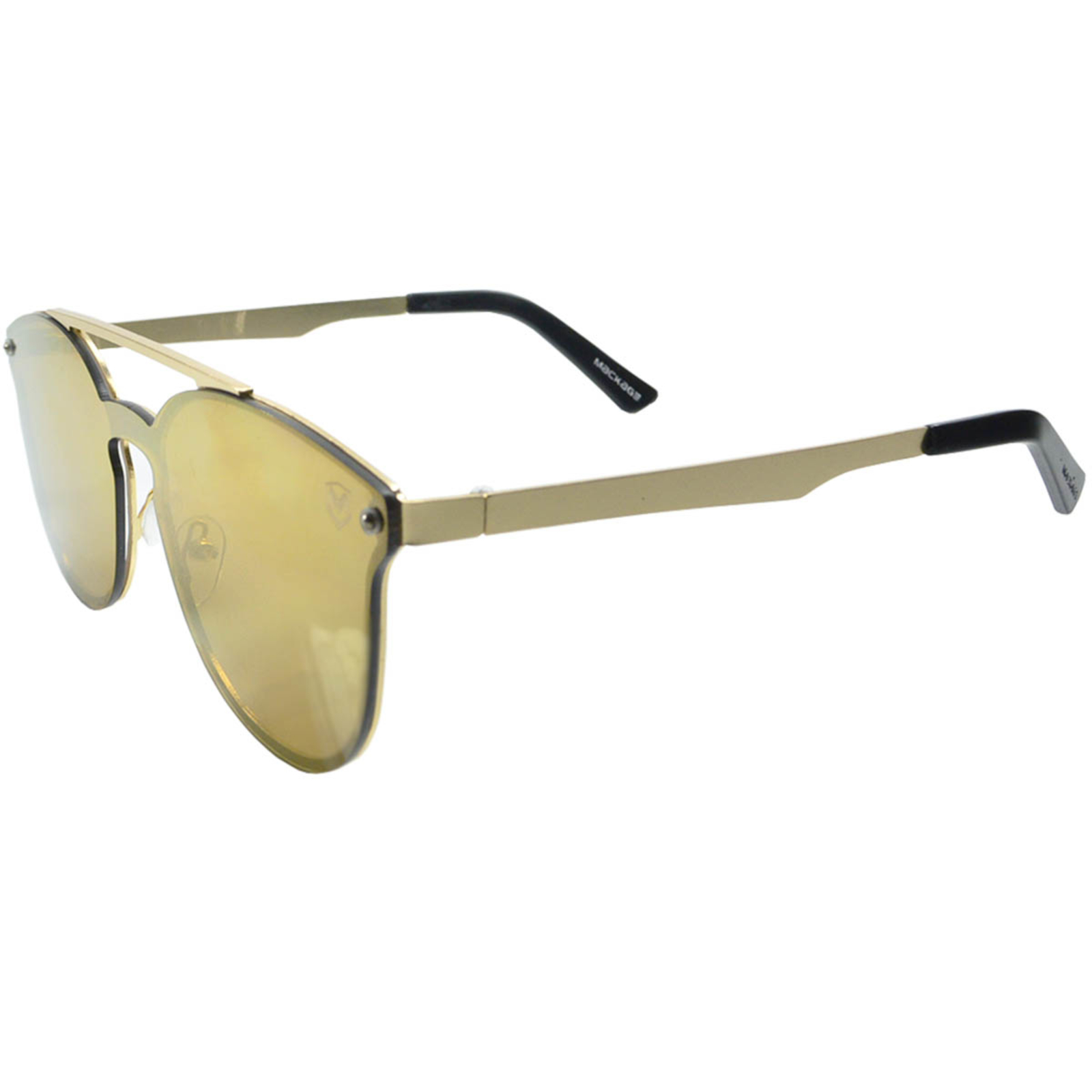 Óculos De Sol Mackage Feminino Metal Fashion Mascara - Espelhado
