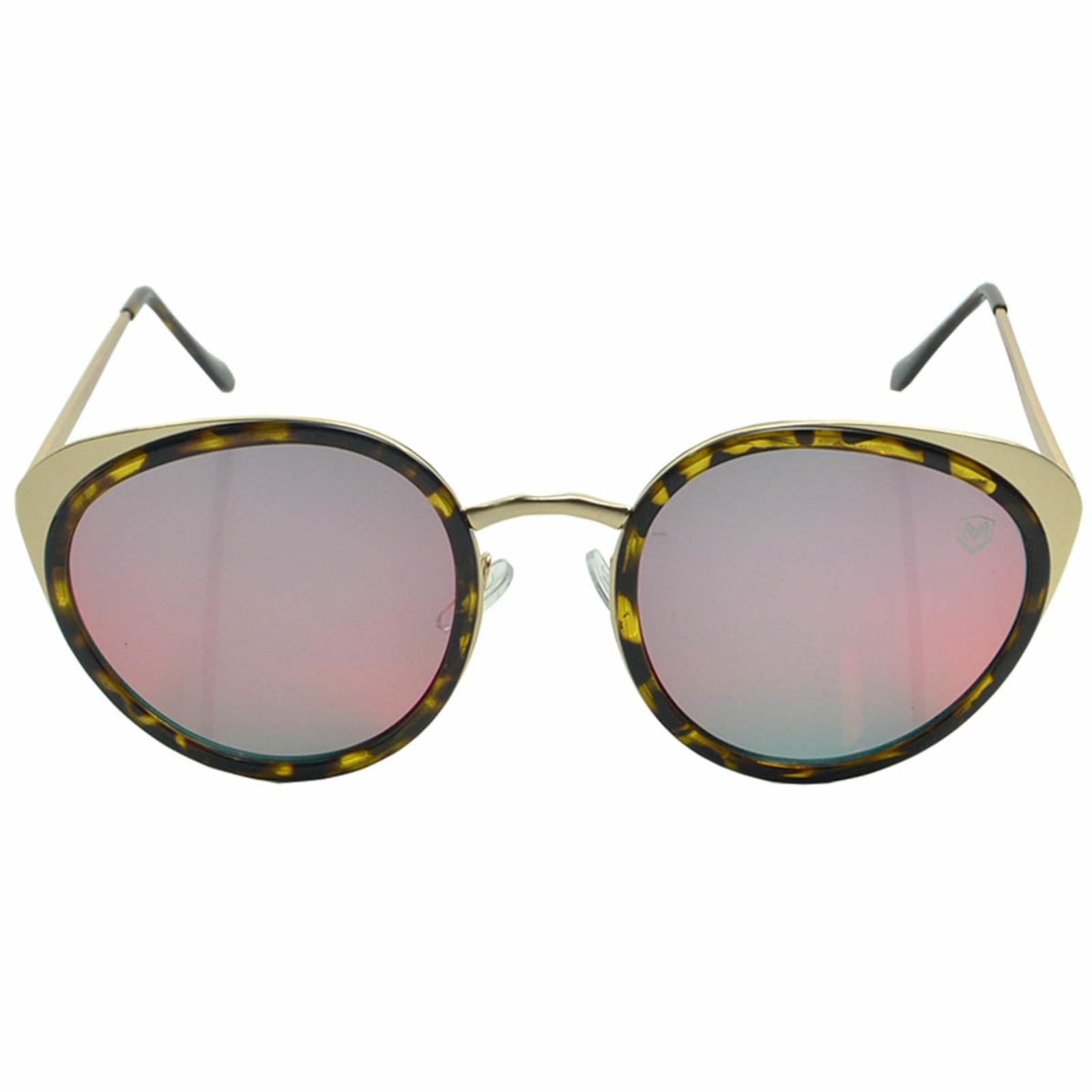 Óculos de Sol Mackage Feminino Metal Gateado - Dourado