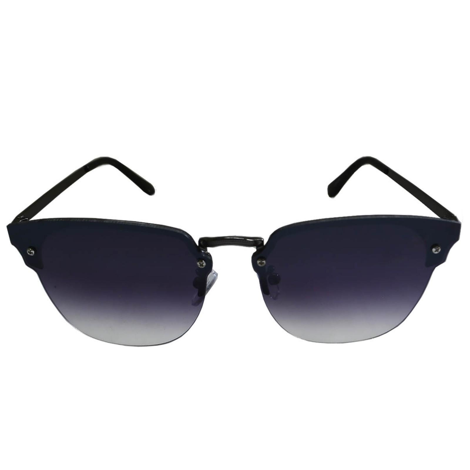Óculos De Sol Mackage Feminino Metal Gateado Rimless - Preto