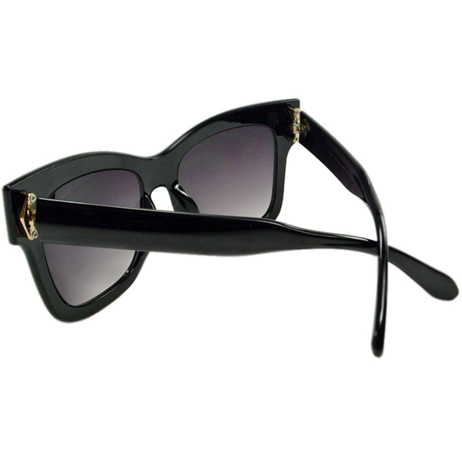 Óculos de Sol Mackage Feminino Oversize Quadrado - Preto