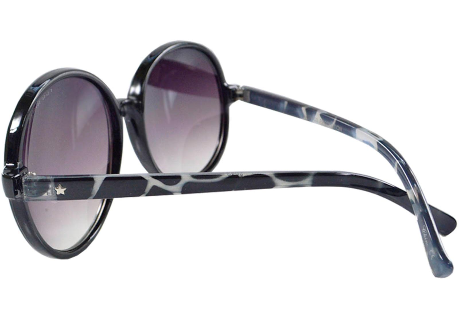 Óculos de Sol Mackage Feminino Redondo Retrô - Animal Print