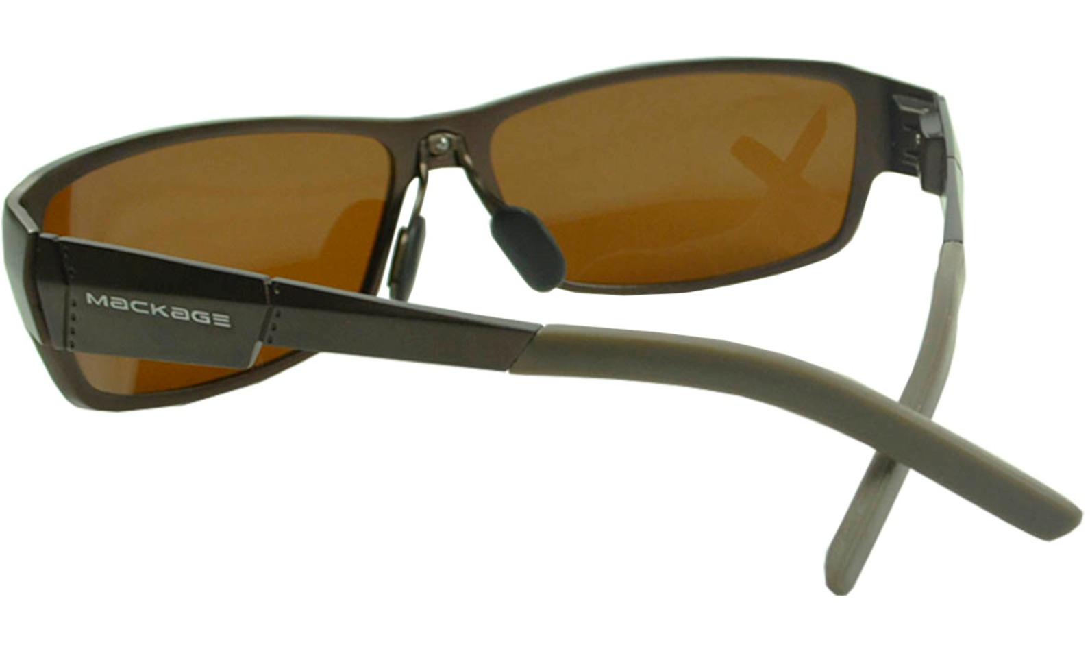 Óculos De Sol Mackage Masculino Alumínio Esportivo Polarizado