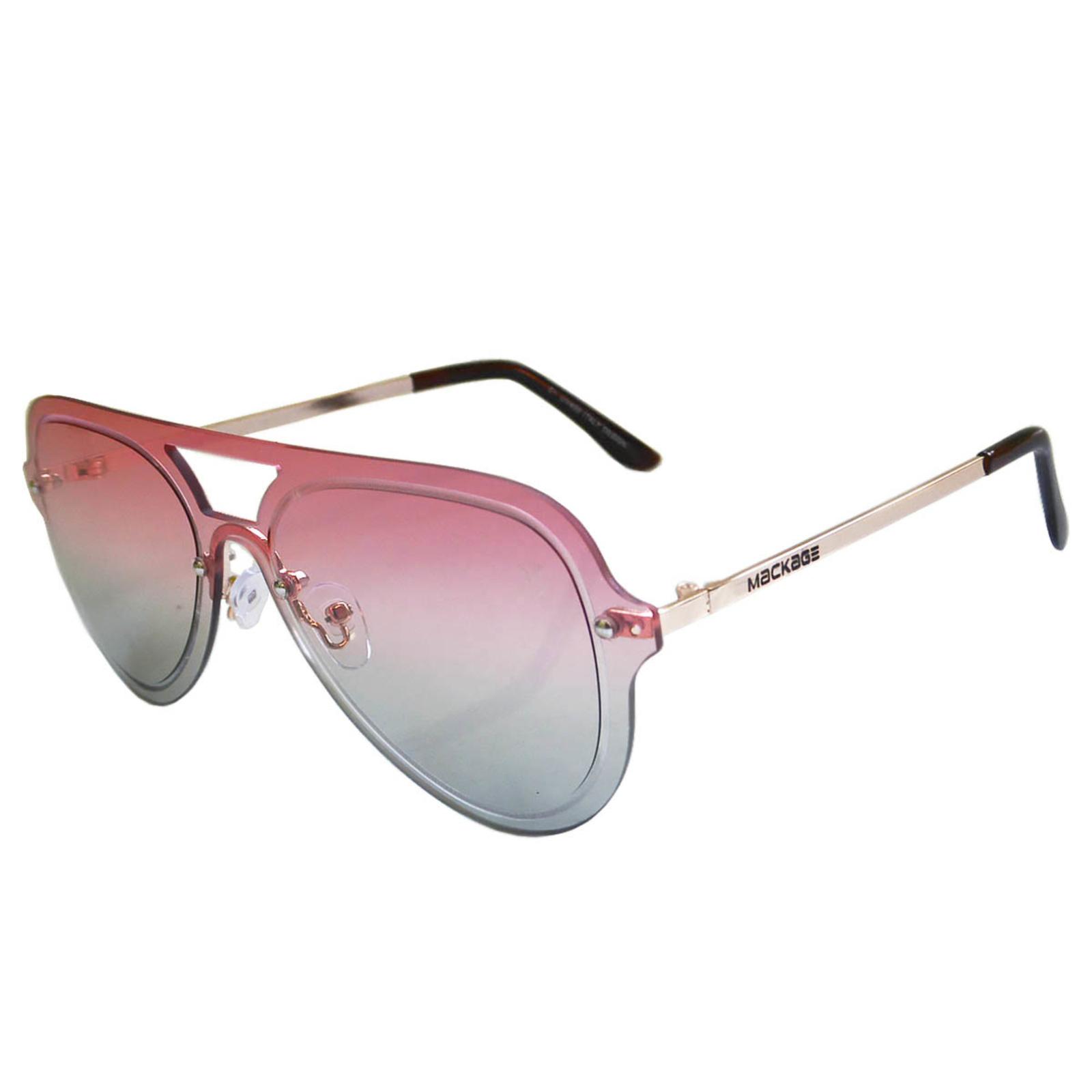 Óculos De Sol Mackage Feminino Aviador Rimless - Rosa