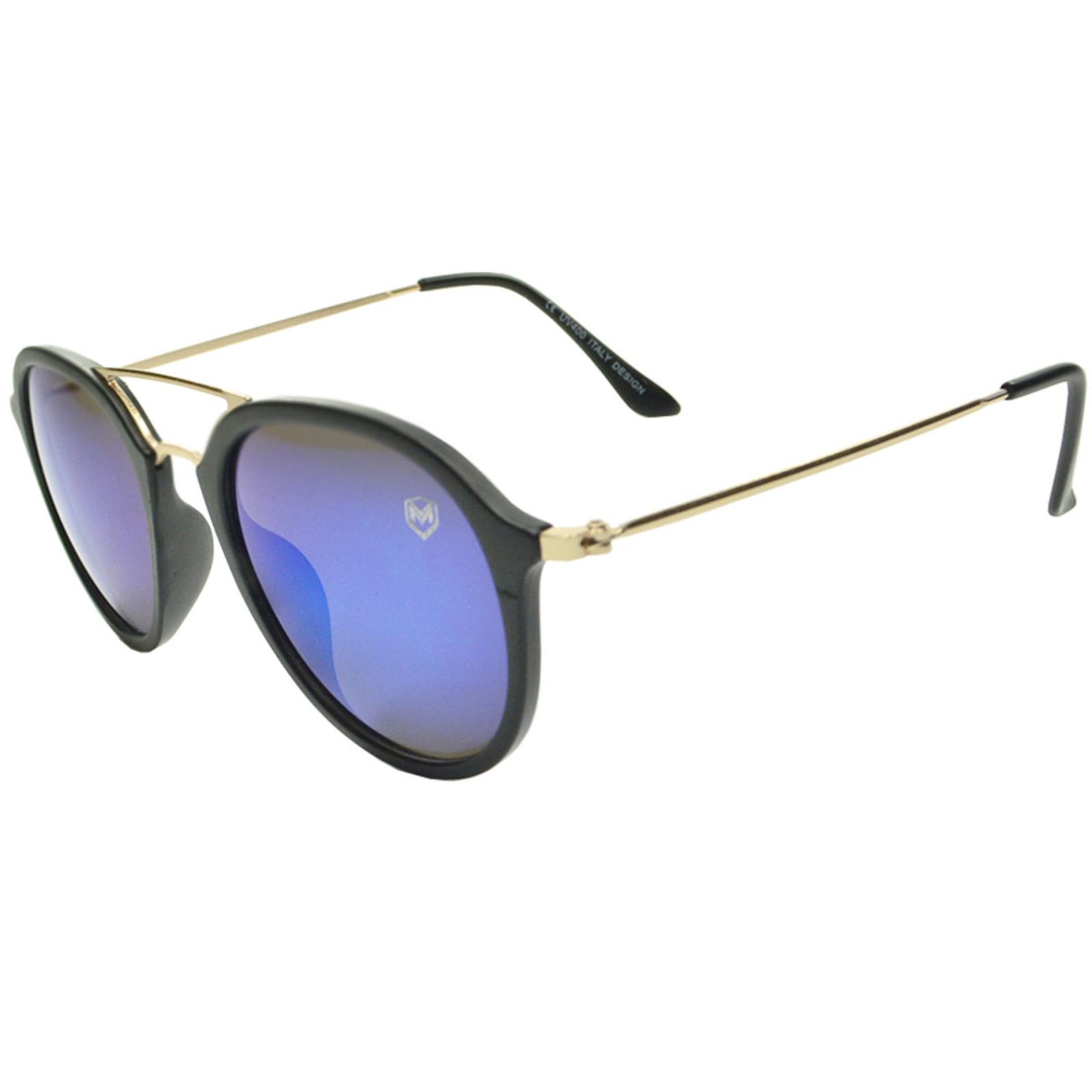 Óculos De Sol Mackage Masculino Acetato Aviator - Preto