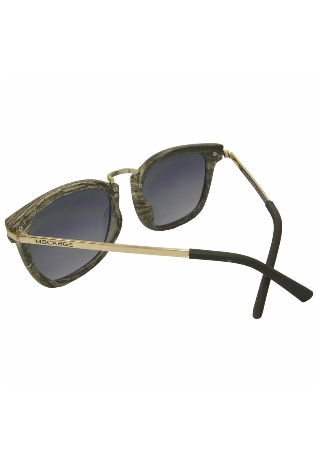 Óculos de Sol Mackage MK5024P Cinza Com Estojo Edição Limitada