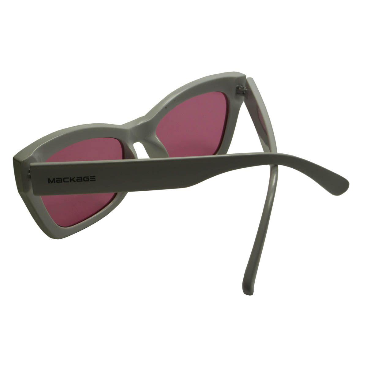 Óculos De Sol Mackage MK5303C4 Branco E Rosa