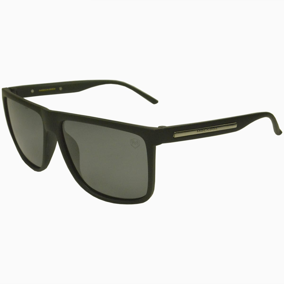 Óculos de Sol Mackage MK7717CLN Marrom Fosco e Preto Fosco