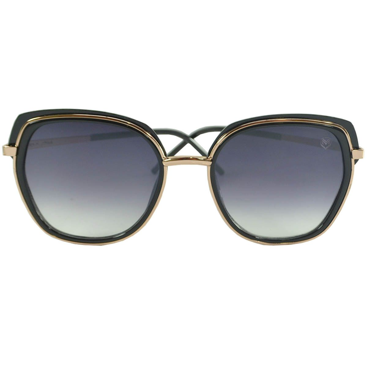 Óculos De Sol Mackage MKG06-C1 Preto Dourado