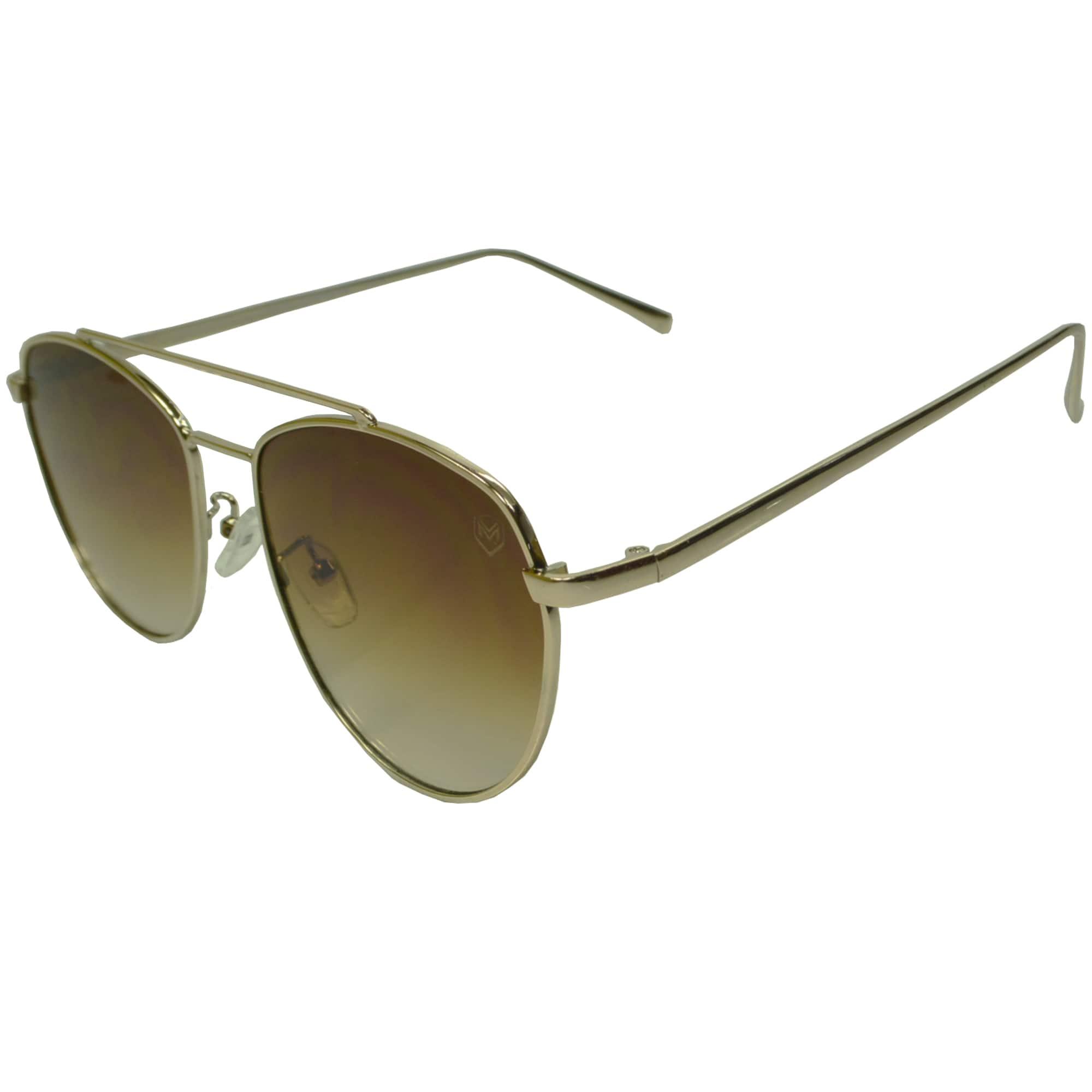 Óculos De Sol Mackage Unissex Metal Aviator